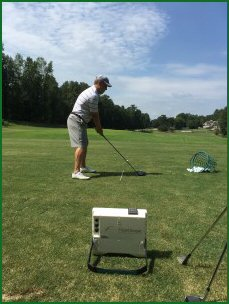 flightscope training session DTL view